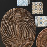 Rattan Oval Placemat Brown (Set of 6)
