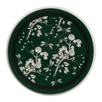 Green & Black Chinoiserie Plate