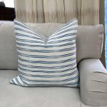 Georgia McMillan Coccaro Double Stripe Cushion