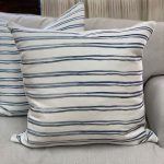 Georgia McMillan Double Inky Stripe Cushion