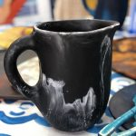 Dinosaur Designs Large Resin Rock Jug – Black Marble