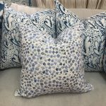 Georgia McMillan Miranda Hydrangea Cushion Medium