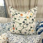 Georgia McMillan Wild Garden Cushion Medium