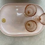 Robert Gordon Oval Platter Rose Quartz