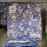 Calico Blue Paper Napkins Pack of 20