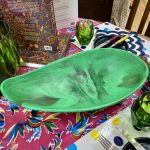 Dinosaur Designs Large Resin Seed Bowl – Leaf