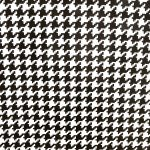 Ben Elke Mexican Oil Cloth Tablecloth Large Houndstooth Black