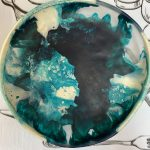 Dinosaur Designs Large Resin Earth Bowl – Lagoon