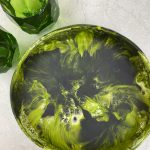 Dinosaur Designs Medium Earth Bowl – Malachite